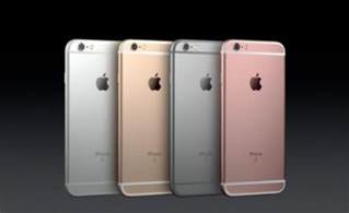 iphone 6s colors just announced apple iphone 6s and iphone 6s plus