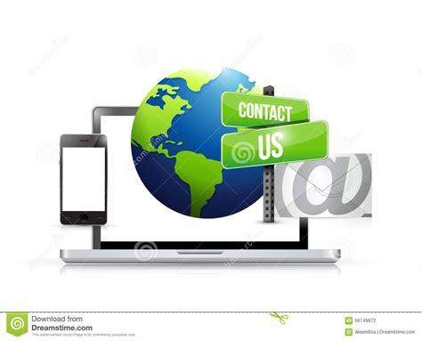electronics dealer mail mail globe stock photography cartoondealer com 6144500