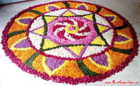 flower pattern rangoli rangoli designs with flowers beautiful simple easy hd images