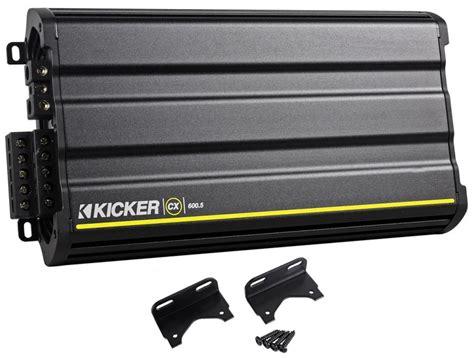 Kicker 12cx6005 Cx600 5 Cx 600 Watt Rms 5 Channel Car