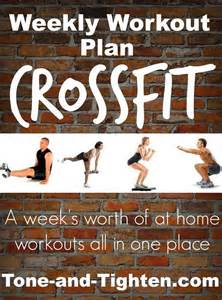 crossfit at home 17 best ideas about crossfit workout plan on
