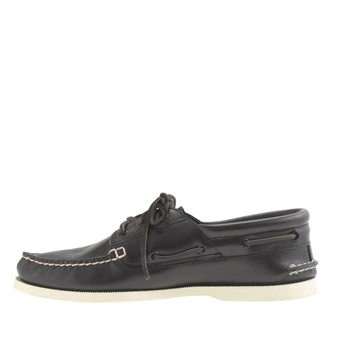 j crew boat shoes j crew sperry top sider authentic original 3 eye boat
