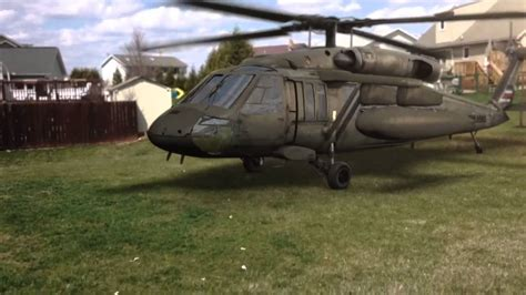 Backyard Helicopter by Helicopter Landed In Backyard