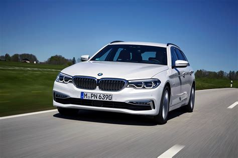 the bmw the 2017 bmw 520d touring goes for a photoshoot in europe