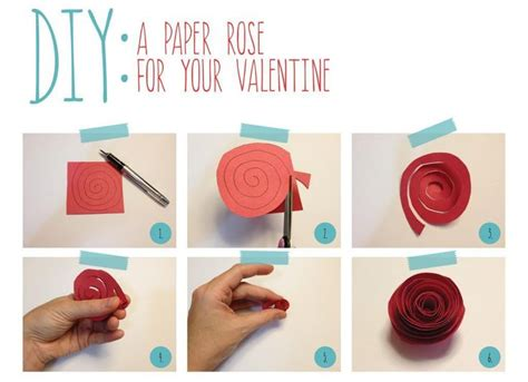 How To Make Construction Paper Roses - diy tutorial paper crafts diy construction paper flower