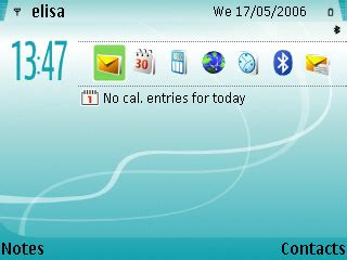 new themes s60 new turquoise theme for nokia s60 free download for