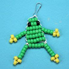 how to make a bead pet frog bead pet step by step photo tutorial pony bead