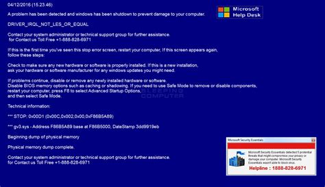remove the microsoft help desk tech support scam compusoft