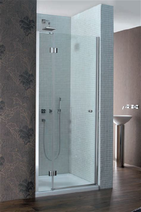 Simpsons Shower Door Simpsons Design Semi Frameless Hinged Shower Door With Inline Panel 1200mm