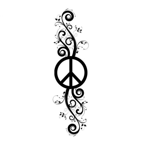 tribal peace tattoo top tribal peace sign images for tattoos