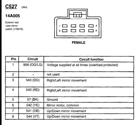 ztvhl3 mirror wiring diagram wiring diagram with description