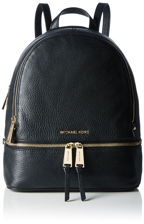 Michael Kors Rhea Backpack michael michael kors rhea zip medium bi color leather