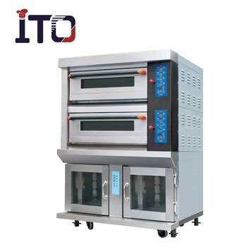 Luxurious Gas Food Oven luxury electric gas deck oven with proofer buy oven with