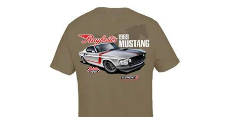 Raybestos Giveaway - raybestos brings back mustang t shirt sweepstakes