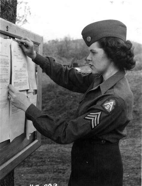 african americans in world war ii wacs 5th army wac wearing male garrison cap american women