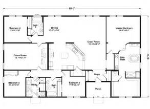 Palm Harbor Homes Floor Plans The Timberridge Elite 5v468t5 Home Floor Plan