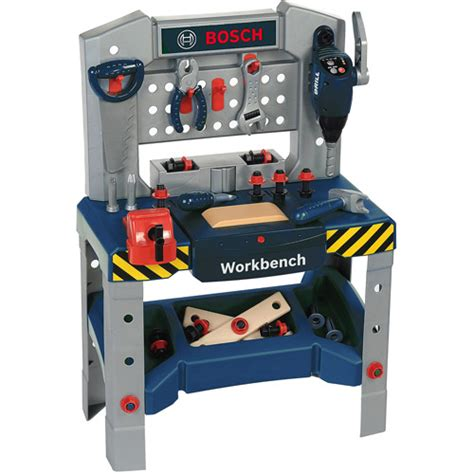 bosch toy tool bench bosch workbench with sound walmart com