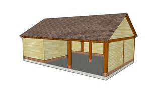carports plans carport with storage shed plans woodplans