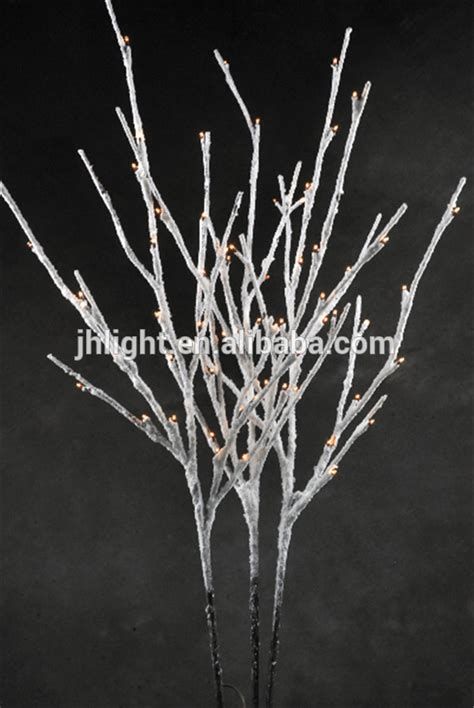 kaemingk led birch tree white cool white 180cm 96 lights led lighted branches snow led snow twig snowy branch light buy led lighted branches snow led