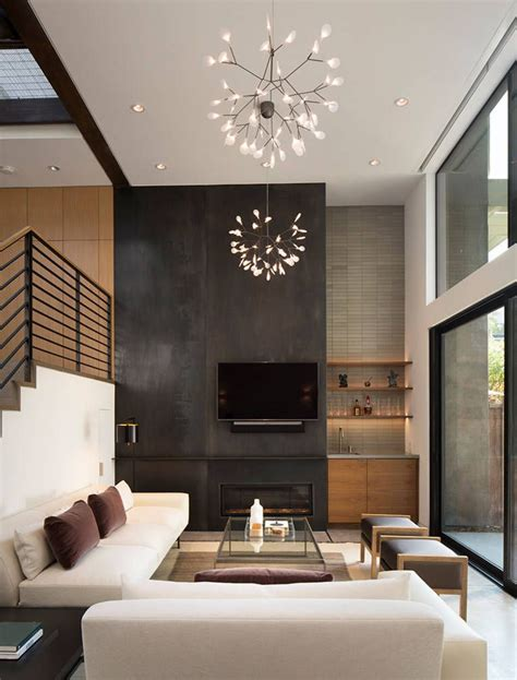 modern home interior decoration menlo park townhouse by lum architecture interior