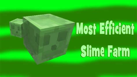 slime farm tutorial skyblock most efficient slime farm 1 6 horse update minecraft