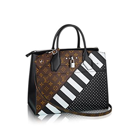 Lv City Steamer Black louis vuitton pre fall 2016 bag collection featuring the