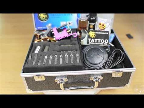 tattoo kit unboxing 6 best tattoo kits 2017 doovi