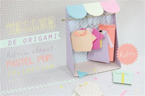 Paper Closet Clothing by Tiny Origami Closet Clothes Diy Crafts