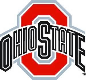 Ohio State Logo Outline ohio state decals