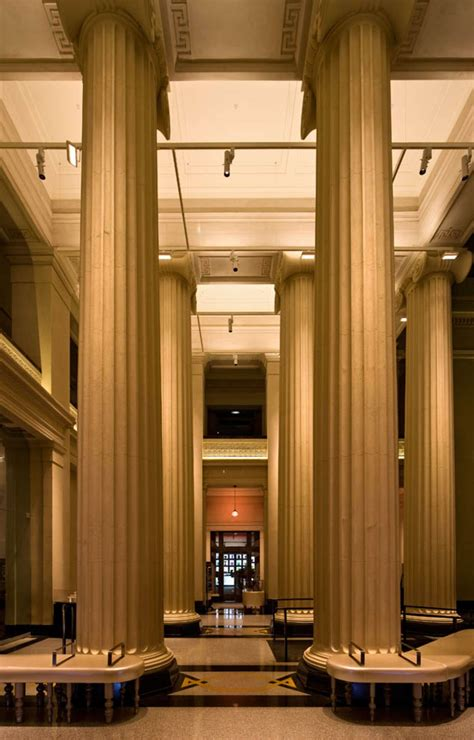 foyer museum auckland museum grand foyer architizer