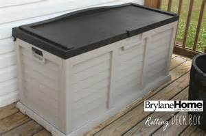 an honest review of the brylanehome rolling deck box