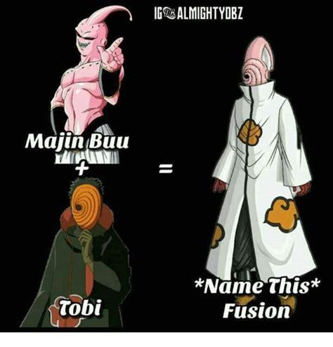 name this majin buu tobi igsrealmightydbz name this fusion majin