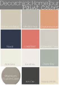 sherwin william paint colors paint colors in our home and updated home tour decorchick