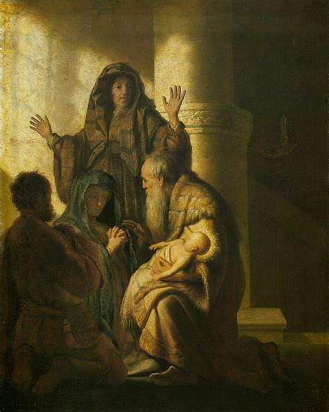 simeon from the bible file rembrandt simeon and anna recognize the lord in