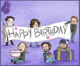 happy birthday sammy we it birthday supernatural and dean winchester