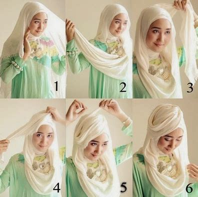 tutorial merajut dengan dua jarum cara memakai jilbab dengan mudah dan praktis tanpa jarum