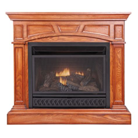 Gas Fireplace And Mantel This Item Is No Longer Available