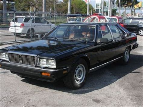 how to sell used cars 1984 maserati quattroporte electronic throttle control buy used 1984 maserati quattroporte iii 38k original miles 50k in receipts in miami florida