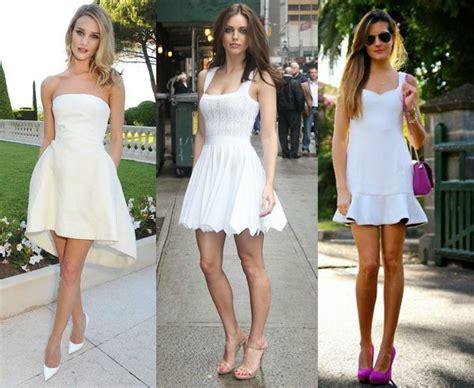 zapatos para vestido corto que zapatos debo usar con un vestido blanco