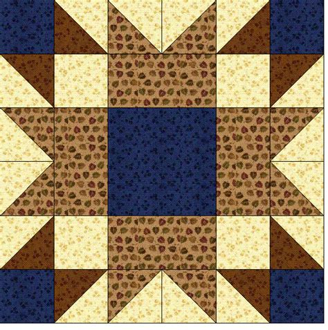 The Quilt Block by Quilt Blocks Of The States Wyoming Quilting