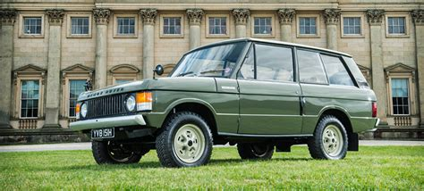 first range rover ever the first ever range rover has been found restored now