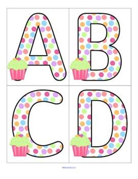 printable alphabet set birthdays theme set of large alphabet letters free