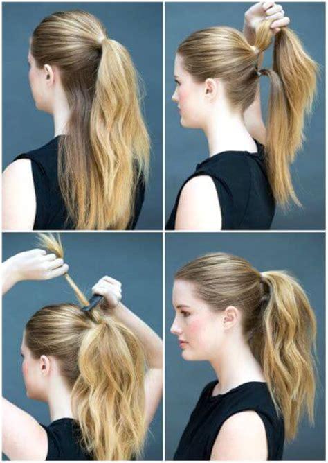 a quick and easy hairstyle i can fo myself 191 apurada 161 6 peinados f 225 ciles y sencillos para hacer t 250