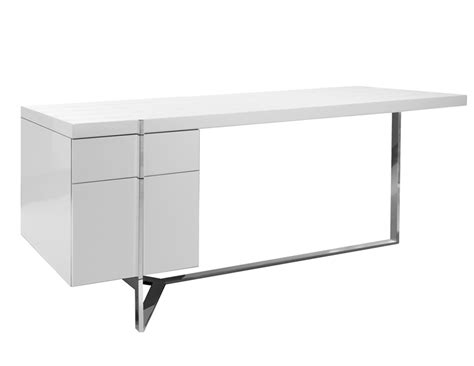 Dining Rooms Martelli White Lacquered Desk