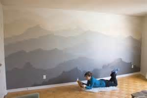 Mountain Wall Mural The Quot Mountain Mural Quot Bedroom Makeover Home