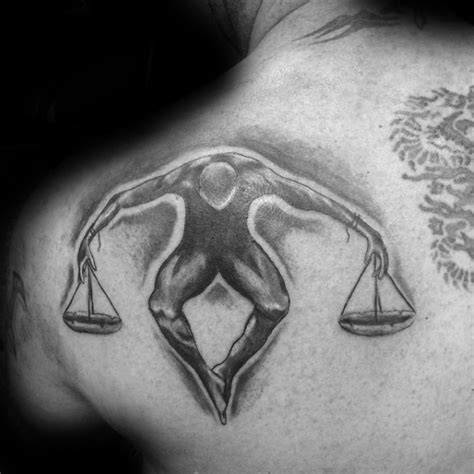 tribal libra tattoos for men 60 libra tattoos for balanced scale ink design ideas