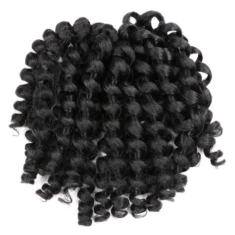 black braiding hair ebay 8 quot crochet hair extensions black braiding twist hair