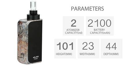 Joyetech Ego Aio Probox 2100mah Vaporizer Paket Ngebul Authentic authentic joyetech aio probox kit 2100mah resin