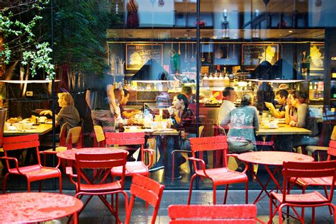 Lovely Things To Do In Times Square Nyc #5: CitizenM-New-York-Times-Square-Garden-Red-Tables.jpg