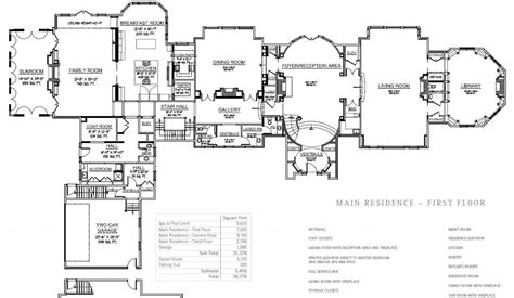 mega mansions floor plans floorplans hotr